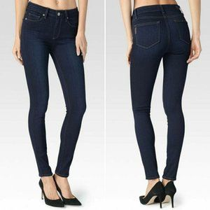 Paige Hoxton Ultra Skinny High Rise Jeans Sz 28